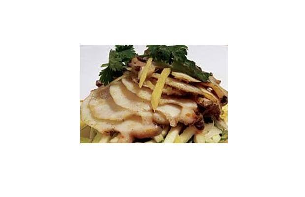 Cocina Fukien: Abalone en lecho de lechuga 2