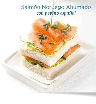 Salmón Noruego Ahumado para tapas