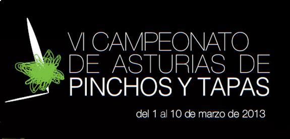 VI Campeonato de pinchos y tapas de Asturias 2