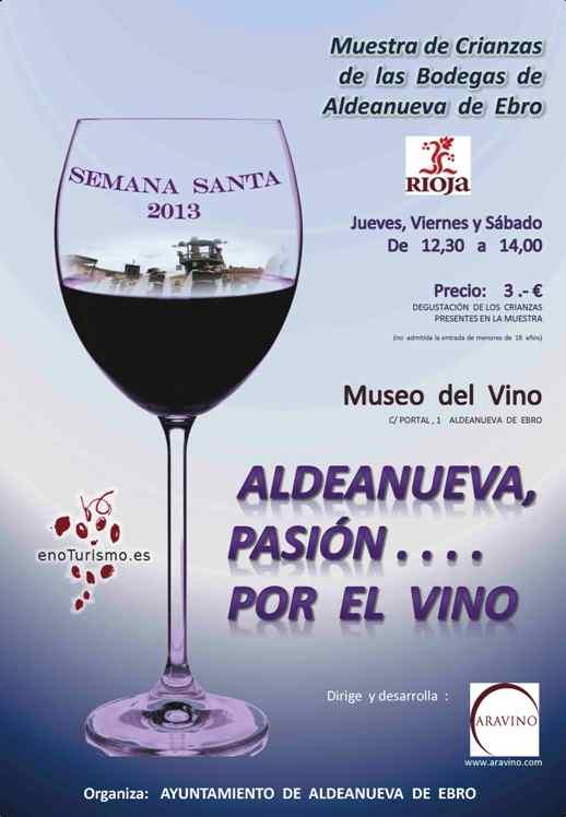 Enoturismo en Aldeanueva de Ebro esta Semana Santa 1