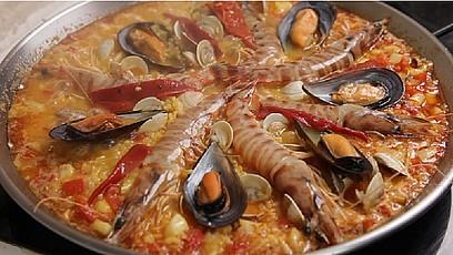Paella de marisco 1