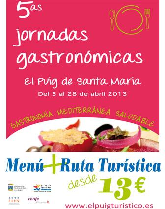V Jornadas gastronómicas en el Puig de Santa Maria 1