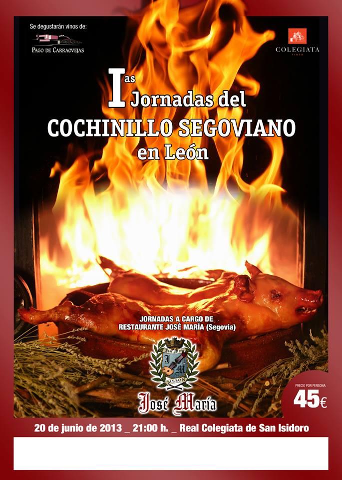 I Jornadas del Cochinillo Segoviano en León 1