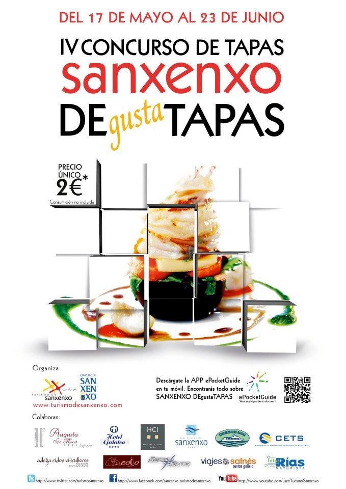 IV Concurso de tapas de Sanxenxo DEgustaTAPAS 2013 1