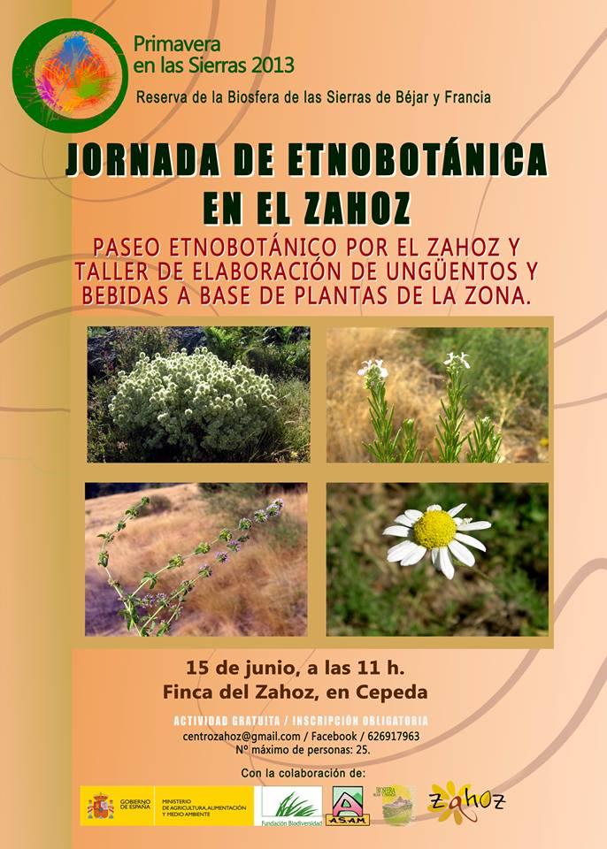Jornada de Etnobotánica en el Centro Zahoz 1