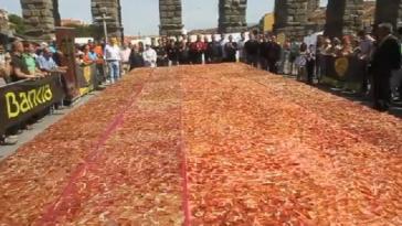 La ración de jamón más grande del mundo 1