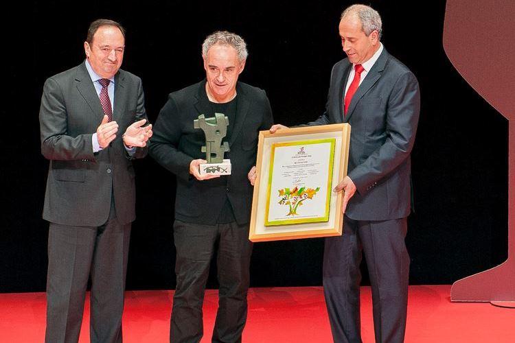 Ferran Adrià, XVII Premio Prestigio Rioja