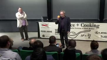 Conferencia de Ferran Adrià en Harvard 2
