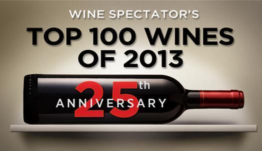 Wine Spectator, Top 100 Wines of 2013 3