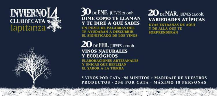 Programa de Invierno de Catas del Club La Pitanza 1