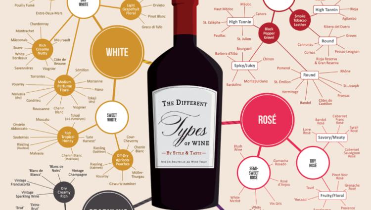 Todos los tipos de vino del mundo en #infografia 1