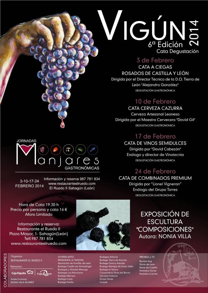 VIGUN 14 6ª edición de las jornadas del vino en Sahagun