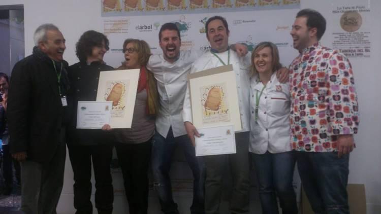 Premiados en el II Concurso Nacional de Torrijas de León 2014