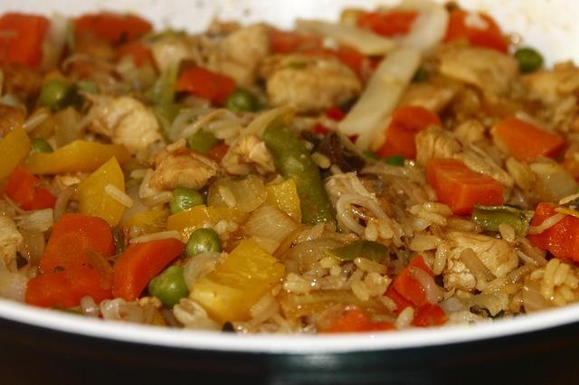 Arroz con alcachofas y pollo 2