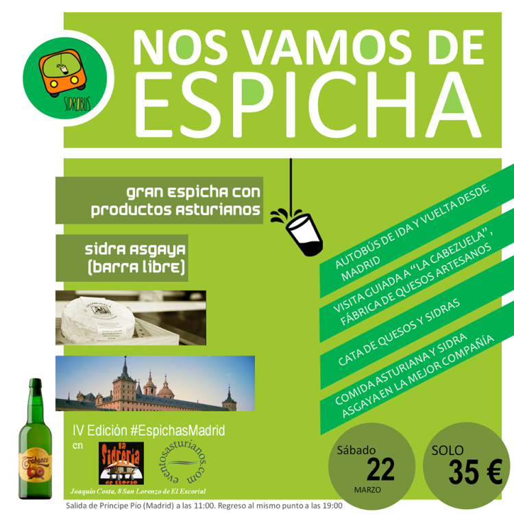 I Sidrobus de Espichas Madrid