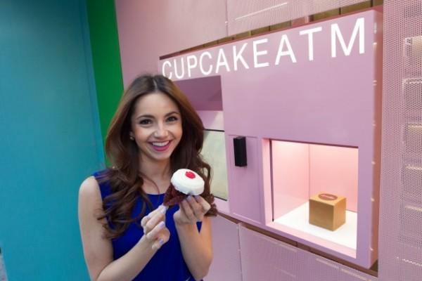 Se abre el primer cajero automático de ..... cupcakes