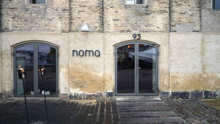 Entrada del restaurante Noma