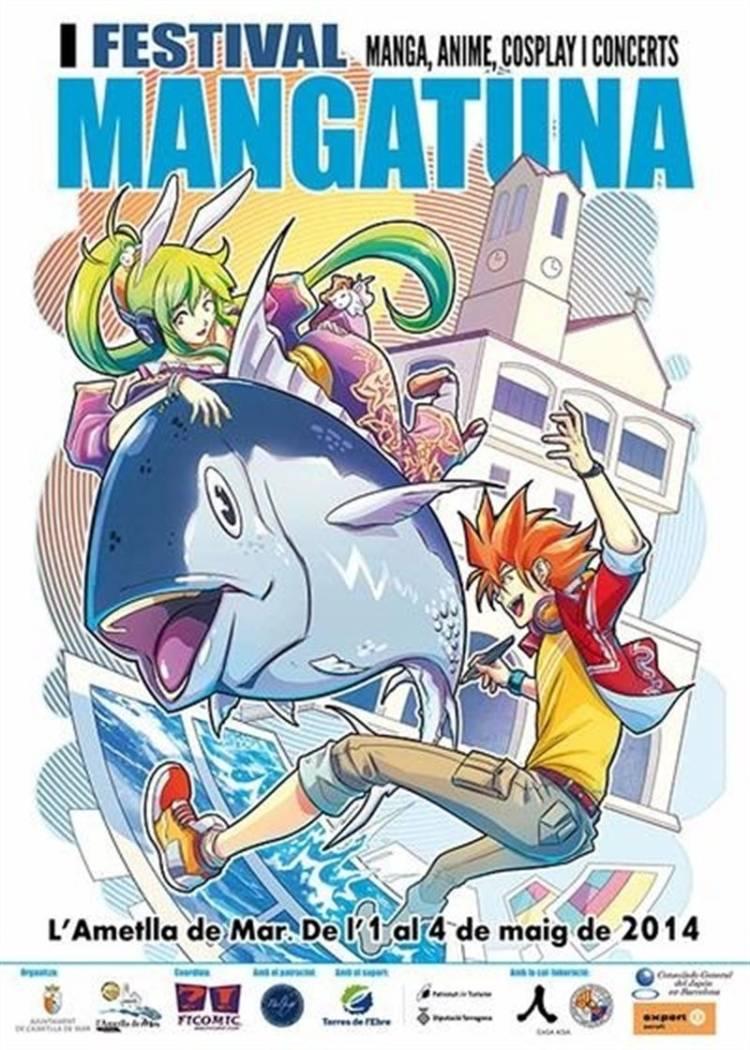 El I Festival Mangatuna une cultura popular japonesa y su gastronomía