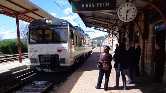 Enoturismo en Galicia: El tren turístico Rutas del Vino