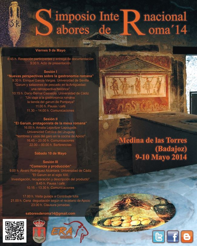 I Simposio Internacional sobre gastronomía antigua romana 'Sabores de Roma'