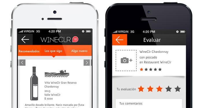 La app WineClr nueva red social para hacernos sommeliers