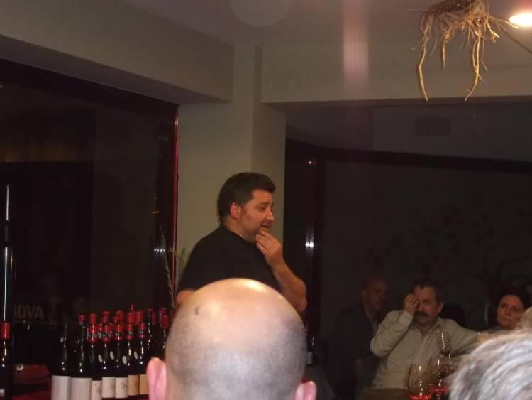 Cata de los vinos del proyecto Ultreia de Raúl Pérez en el Sexto Sentido 7