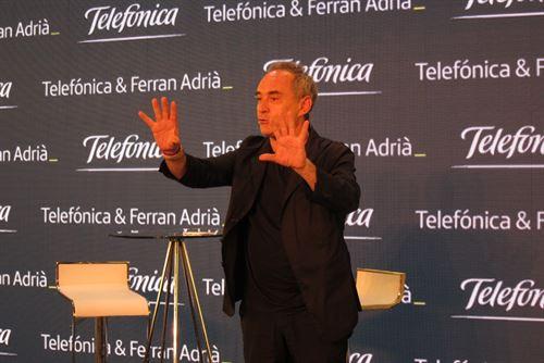 Ferran Adrià presenta en Madrid el proyecto itinerante Espacio Innovación 1