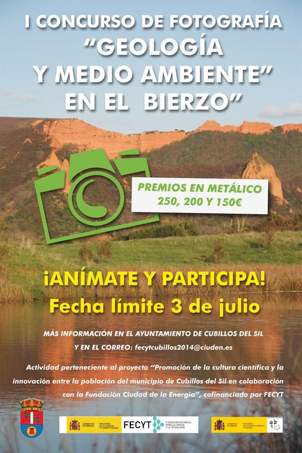 I Concurso de Fotografía 'Geología y Medio Ambiente en el Bierzo' 1