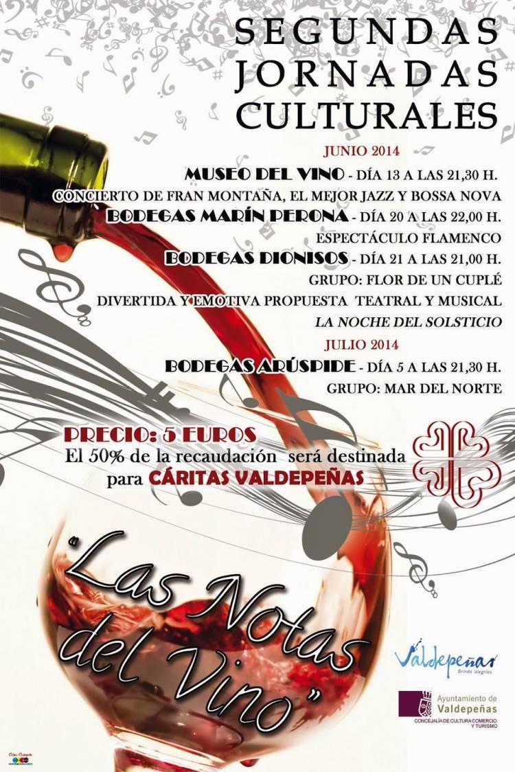 II Jornadas Culturales 'Las Notas del Vino' 1