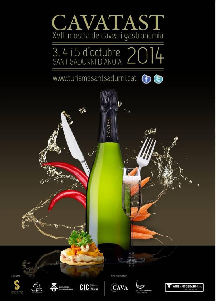 Cavatast 2014, XVIII Mostra de caves i gastronomia 1