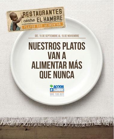 Restaurantes Contra el Hambre 2014 1