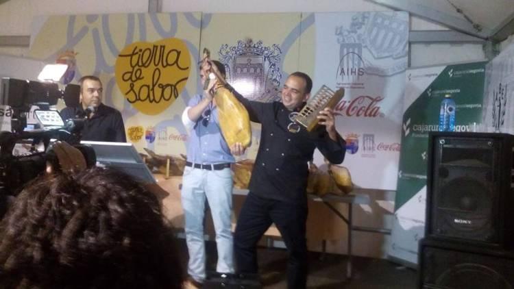 Agustín Risueño gana el Campeonato Nacional de corte de jamón celebrado en Segovia 1