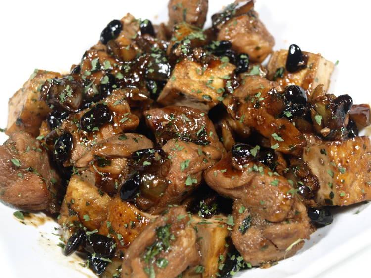 Cerdo agridulce con salsa de ostras (receta propia) 1