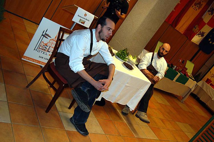 Cónclave de 12 premiados con el 'Cocinero revelación' en El Escorial de la mano de Madrid Fusión 1