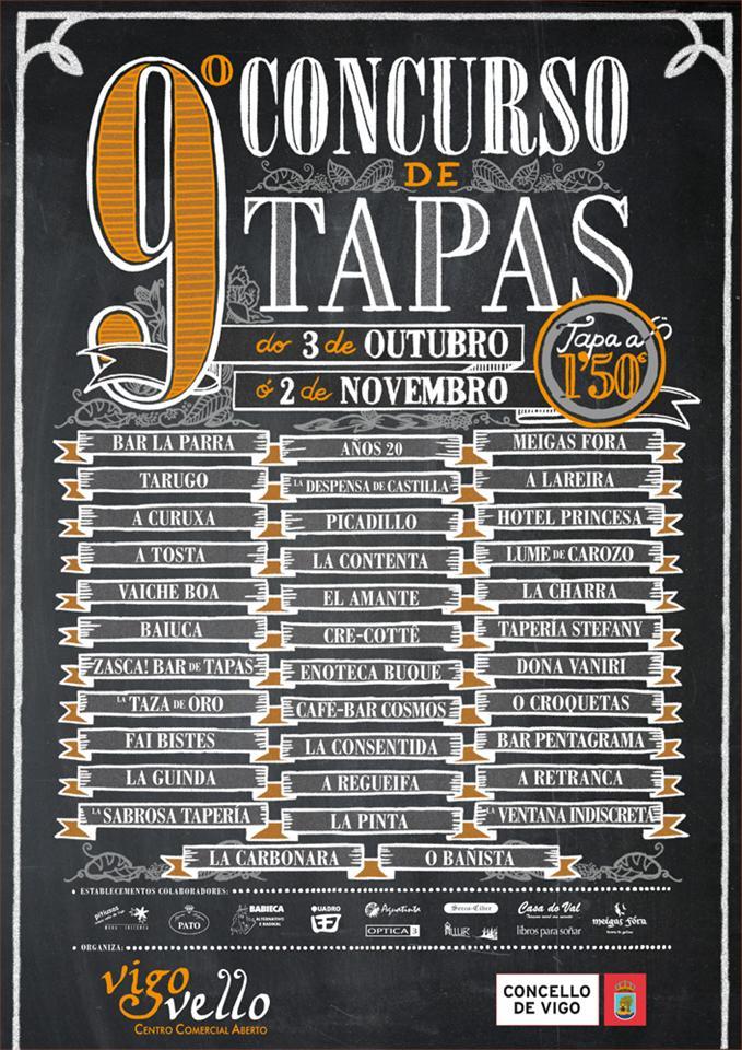9º Concurso de Tapas de Vigo 1