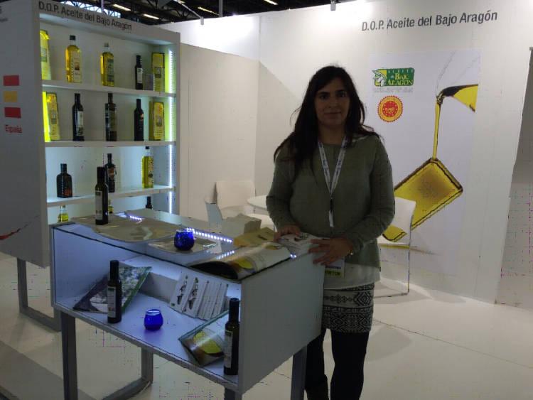 El Aceite del Bajo Aragón está presente en el Salón Internacional de Alimentación que se celebra en París 2