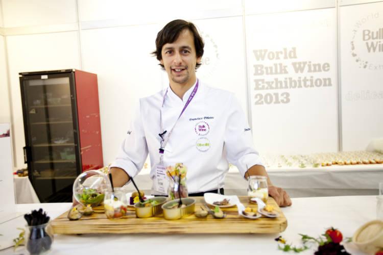 Kike Piñeiro volverá a ser el chef del show cooking en la World Bulk Wine Exhibition 1
