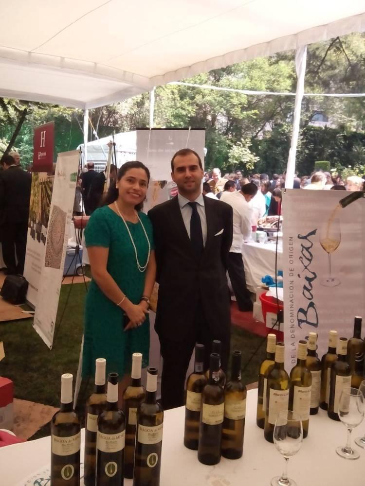 Los vinos de la D.O. Rías Baixas presentes en las embajadas españolas el Día de la Hispanidad 1
