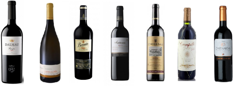 Top 19 Rioja Master Wines para la publicación 'the drinks business' 1