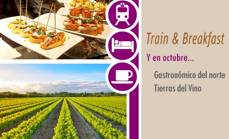'Train & Breakfast' nueva oferta de enoturismo que recorrerá la Ribera del Duero y La Rioja 1