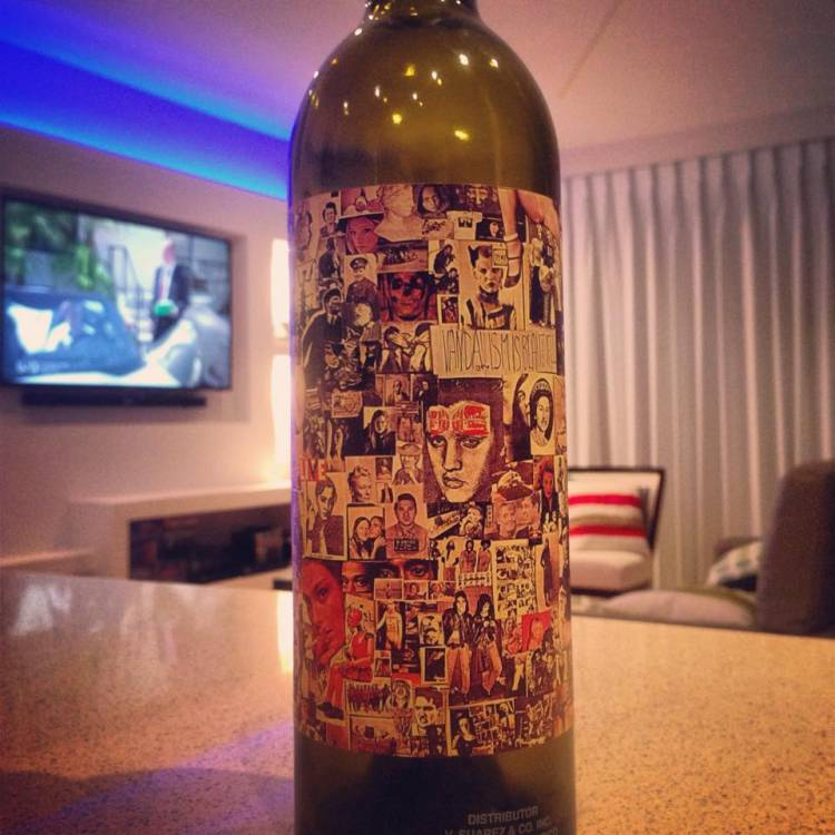 2012 Orin Swift Abstract (Syrah,Petite Sirah,Grenache)