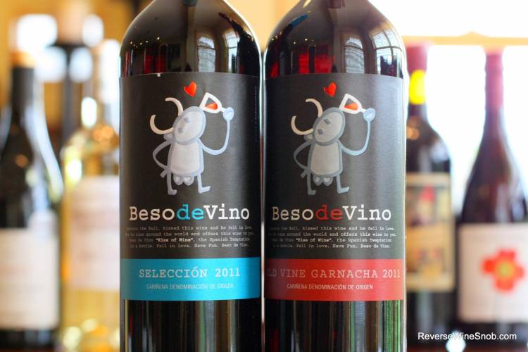 Beso de Vino Seleccion and Old Vine Garnacha