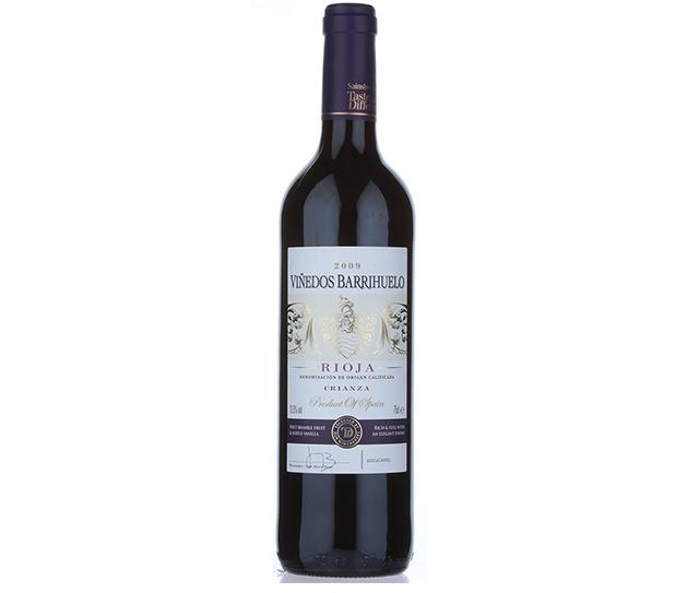 Taste the Difference Viñedos Barrihuelo Rioja Crianza 2009 1