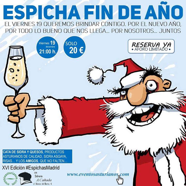 16ª edición de Espichas Madrid, especial Espicha Fin de Año 1