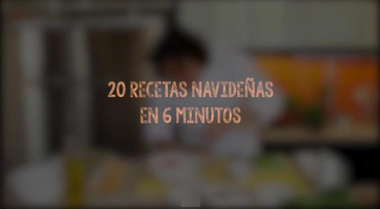 20 recetas navideñas en 6 minutos de Gastón Acurio en vídeo 1
