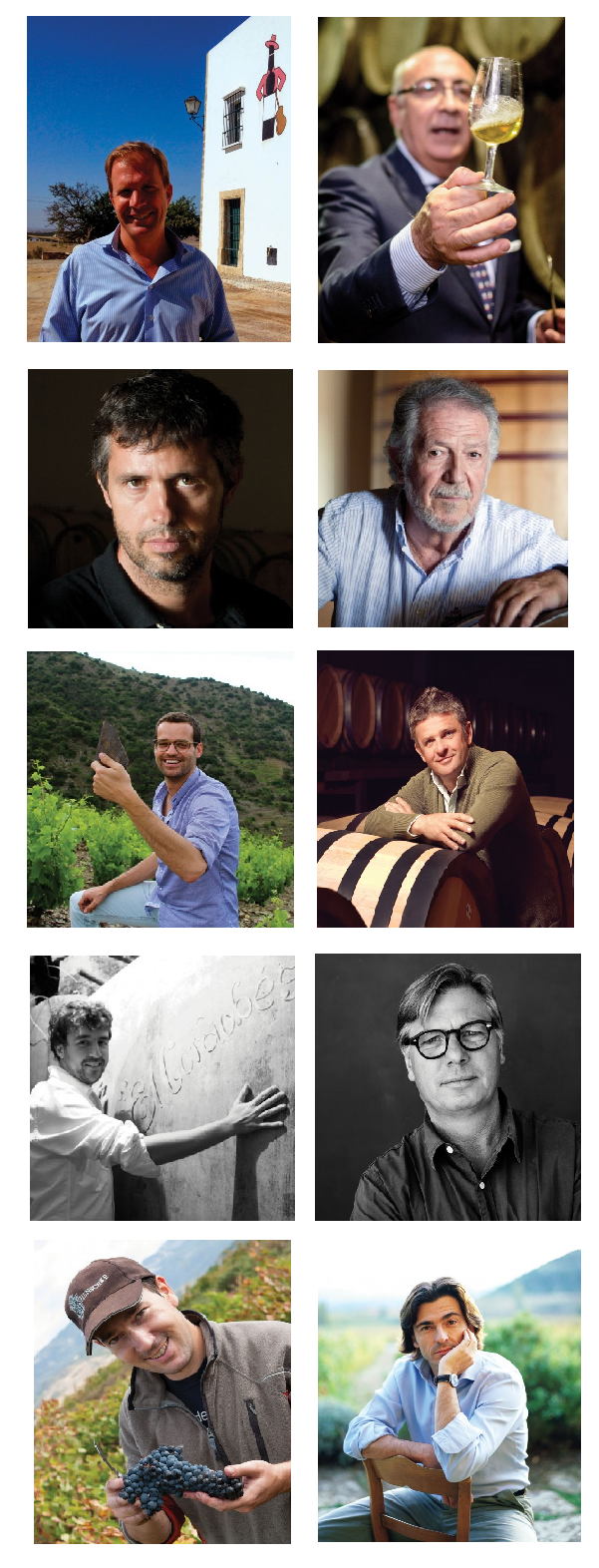 5 enólogos españoles y sus consejos en la figura de 5 pupilos 1