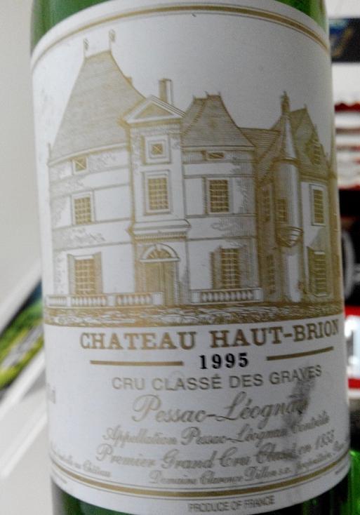 Chateau Haut-Brion, Pessac-Leognan 1995 1