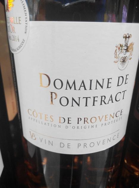 Domaine de Pontfract 2013, Côtes de Provence Rosé 1