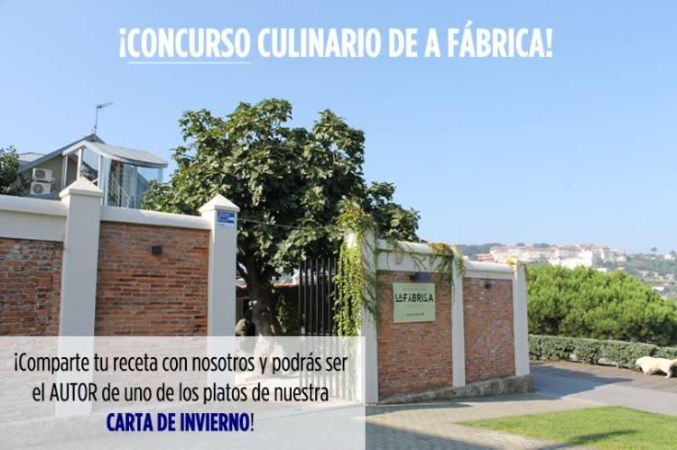 El Restaurante A Fabrica en Santa Cristina abre su concurso para que puedas poner tu receta en su menú 1