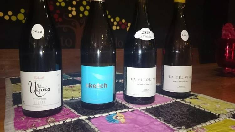 Excelente cata de vinos de Raúl Pérez 1